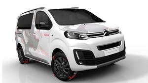 Citroën presentará su nuevo SpaceTourer 4x4 Ë Concept en el Salón de Ginebra.