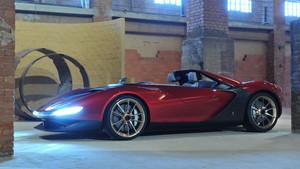 Ferrari Sergio, diseñado para homenajear a Sergio Pininfarina.