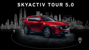 Lleida es la octava parada de la edición 2018 del SKYACTIV Tour.