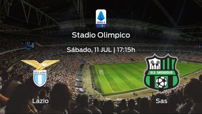 Previa del partido: el Lazio recibe al Sassuolo en la trigésimo segunda jornada