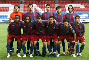 9.Sergio Busquets 2005-2006