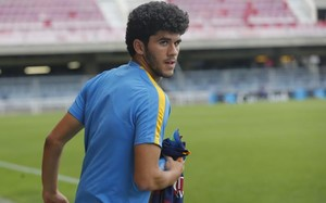Aleñá, jugador de la cantera del Barça