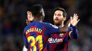 Ansu-Messi, genios precoces