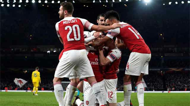 El Arsenal remontó la eliminatoria ante el Bate