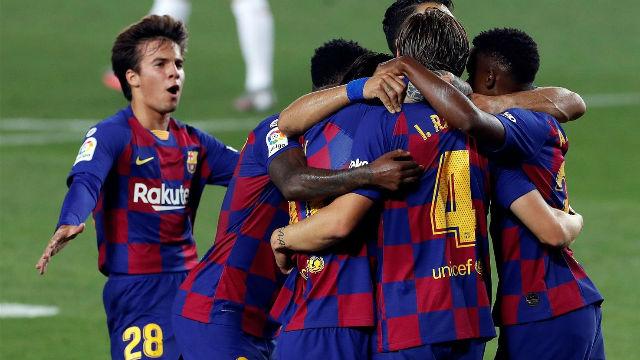 Así fue la sufrida victoria de un gris Barça ante el Athletic