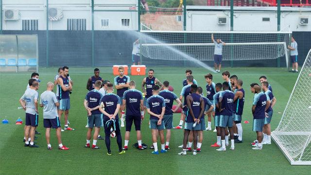 El Barça encara la preparación de la Supercopa con sesiones dobles de entrenamientos