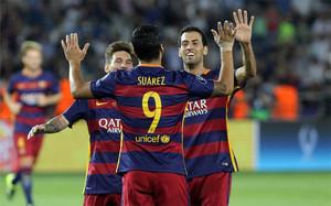 El FC Barcelona se llevó la quinta Supercopa de Europa