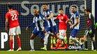 Brahim celebra el primer gol del Oporto ante el Benfica