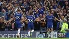 El Chelsea celebrando un tanto