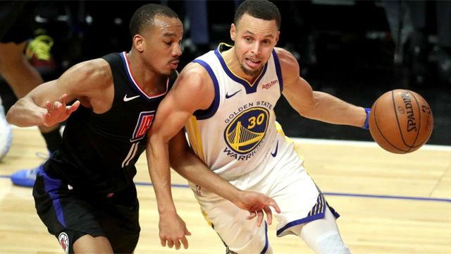 Curry lidera la victoria de los Warriors ante los Clippers