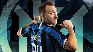 El danés Eriksen, jugador del Inter