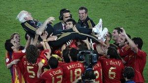 La derrota en Solna fue el inicio del éxito del equipo de Luis Aragonés