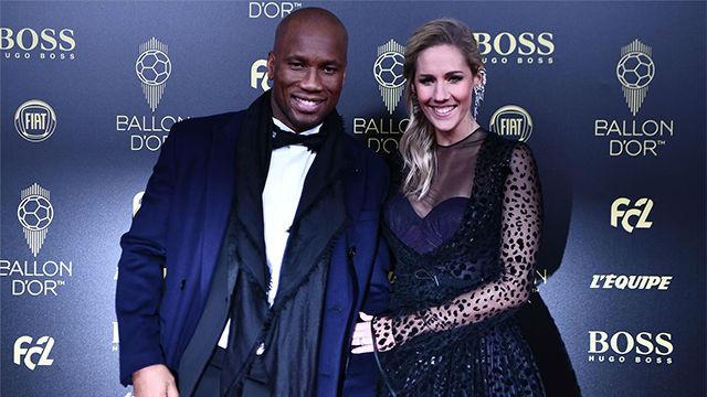 Didier Drogba y la presentadora Sandy Heribert conducirán la Gala Balón de Oro 2019