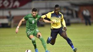 Ecuador goleó 3-0 a Bolivia
