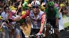 Ewan celebra su primer triunfo en el Tour