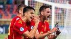 Fabiàn celebra el golazo anotado ante Polonia