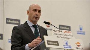 La Federación defiende a su presidente, Luis Rubiales.