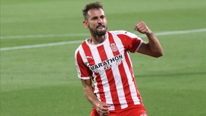 El Girona vuelve a encomendarse a Stuani