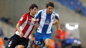 Granero, en una imagen de esta temporada con la camiseta del RCD Espanyol