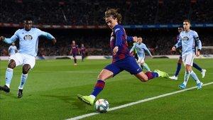 Griezmann sigue adaptándose al Barça