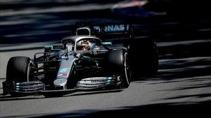 Hamilton volvió a ser el más veloz