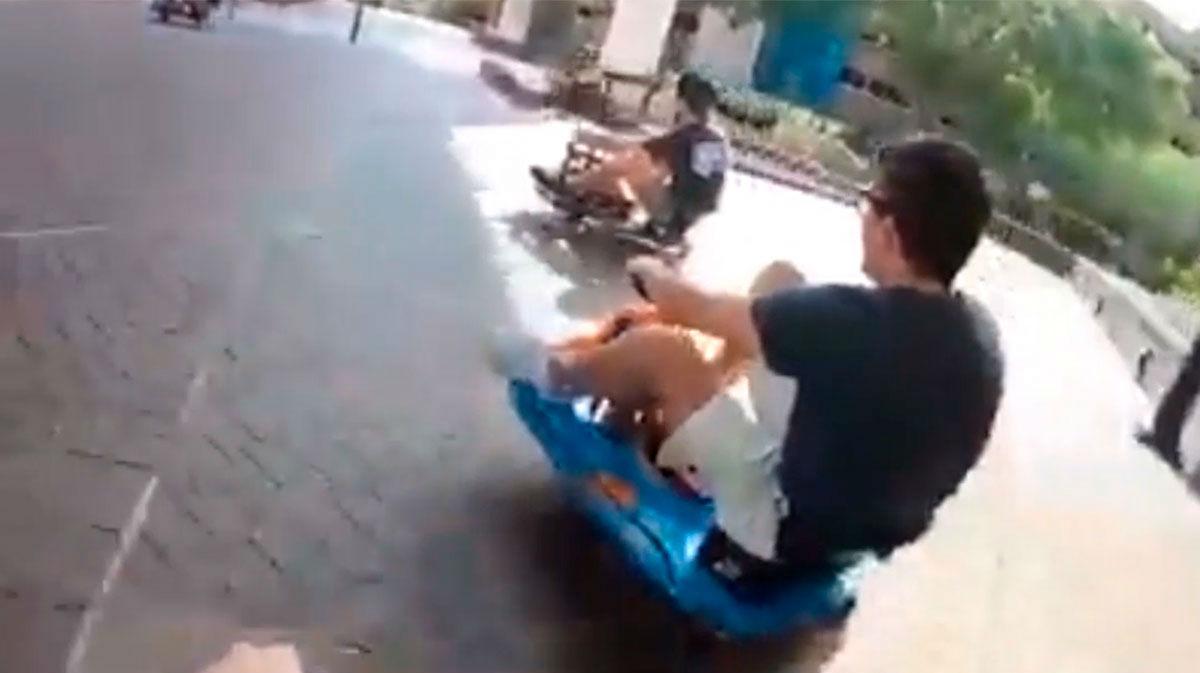 ¿Has imaginado alguna vez convertirte en Mario Kart? Ahora es posible jugar en la vida real