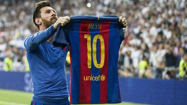 Histórico Messi