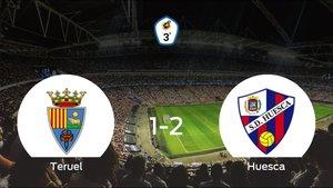 El Huesca B gana 1-2 en el feudo del Teruel