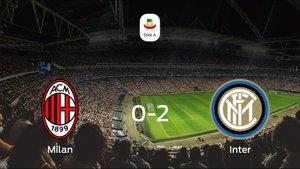 El Inter se impone al Milan y consigue los tres puntos (0-2)