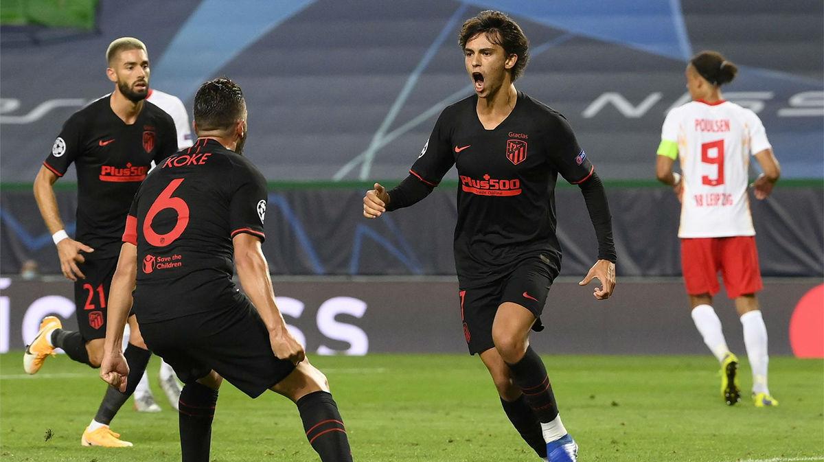 Joao Félix convirtió un penalti que dio esperanzas al Atlético