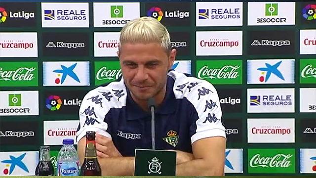 Joaquín: Hablaré con LaLiga para poner Hulio en la camiseta