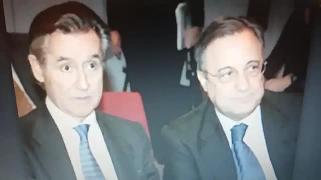 José María García explicó la relación entre Blesa y Florentino Pérez que permitió el fichaje de Figo