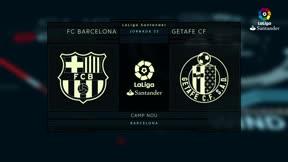 LALIGA FCB   FC barcelona - Getafe (0-0)