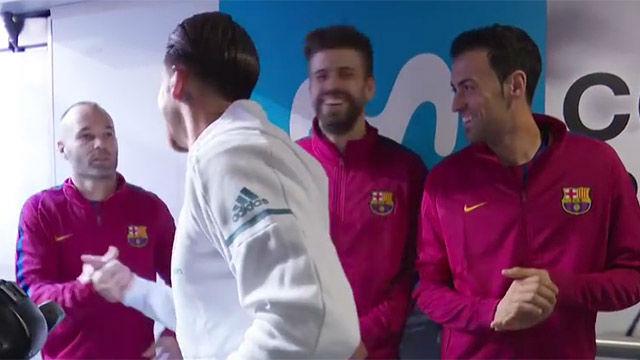 LALIGA | Real Madrid - FC Barcelona (0-3): La previa en el túnel de vestuarios