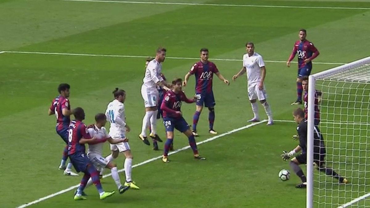LALIGA | Real Madrid-Levante (1-1): El gol de Lucas Vázquez