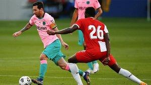 Leo Messi se estrenó como goleador en esta pretemporada
