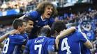 Los jugadores del Chelsea, eufóricos por el triunfo ante el Tottenham en la FA Cup