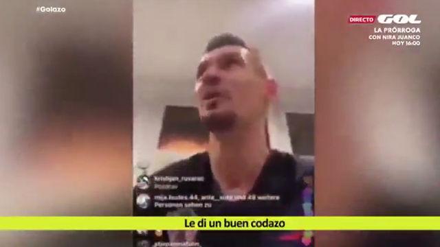 Lovren se burla de Sergio Ramos: Le di un buen codazo