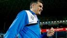 Mendilibar está satisfecho en el Eibar y seguirá una temporada más