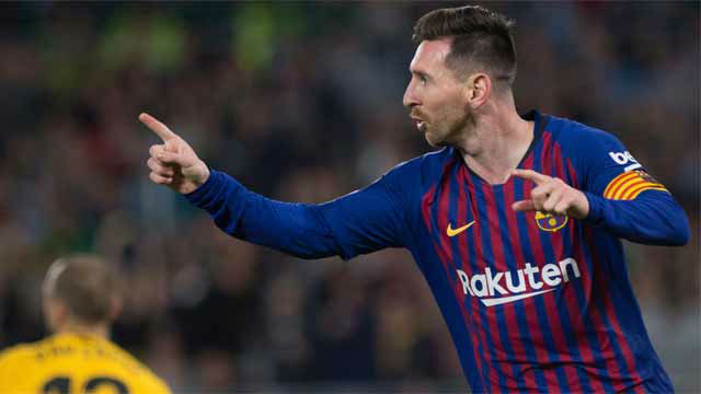 Messi aprovechó un taconazo de Suárez para aumentar la ventaja con el 2-0