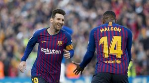 Messi y Malcom formarán parte del ataque azulgrana
