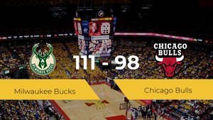 Milwaukee Bucks se lleva la victoria frente a Chicago Bulls por 111-98
