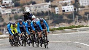 Movistar seguirá en el ciclismo