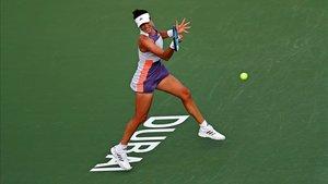 Muguruza se clasificó para cuartos de final en Doha