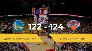 New York Knicks consigue la victoria frente a Golden State Warriors por 122-124