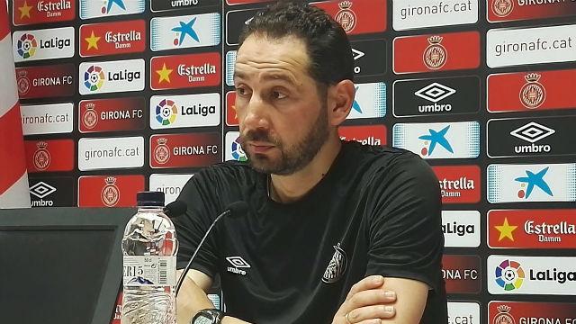 Pablo Machín habló sobre su continuidad en el banquillo del Girona