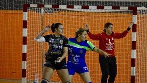 Partido de la última jornada de la Liga Catalana Femenina de balonmano