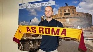 Pau López está feliz por afrontar el reto de jugar en la AS Roma