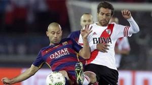 Ponzio quiere a Mascherano en River Plate