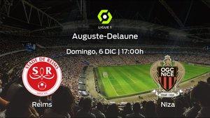 Previa del encuentro de la jornada 13: Stade de Reims - OGC Niza